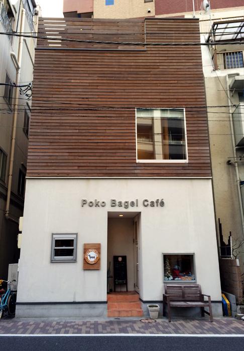 A slim store hidden amongst office buildings in Hamamatsucho
